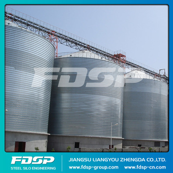 Powder Storage Steel Silo with High Strength Support Tower