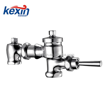 Hand type flushometer,Toilet Flush valve made by brass