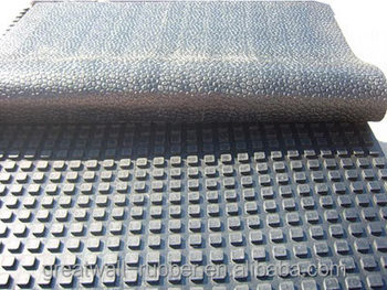 Great Wall Roll package adhesive diamond plate used in farms cow mat