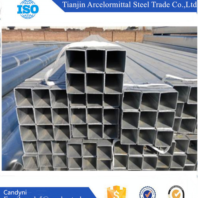 Low Price Square 300gsm Hot Dip Galvanized Steel Pipe With Good Quality Manufacturers China
