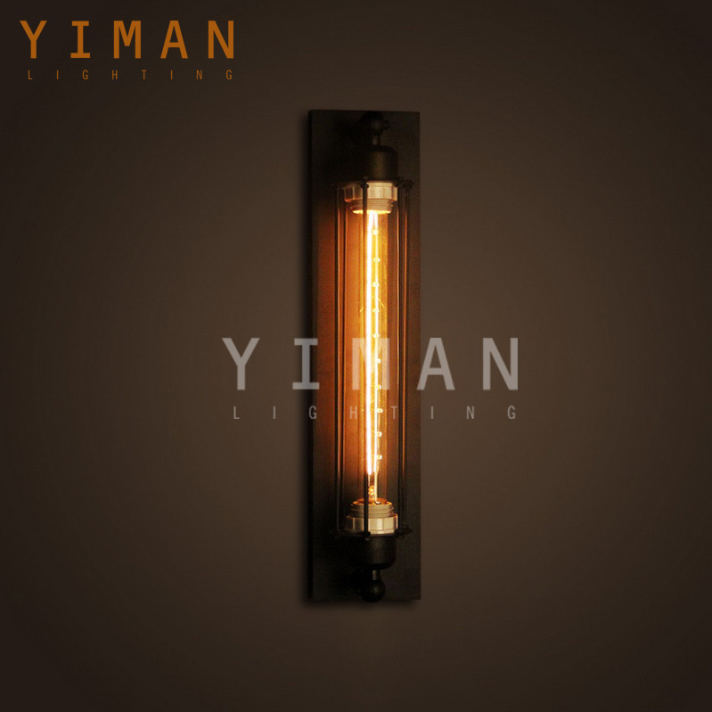 YM2004 Industrial traditional tungsten flament wall lighting fixture edison retro ul ce cheaper wall lamp