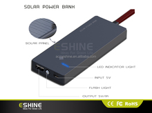 promotion gift 2500mAh portable solar chargers with keychain solar enery power for mobile