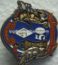 Hot sales souvenir badge making sports meet souvenir badge