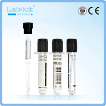 Vacuum blood collection test tube