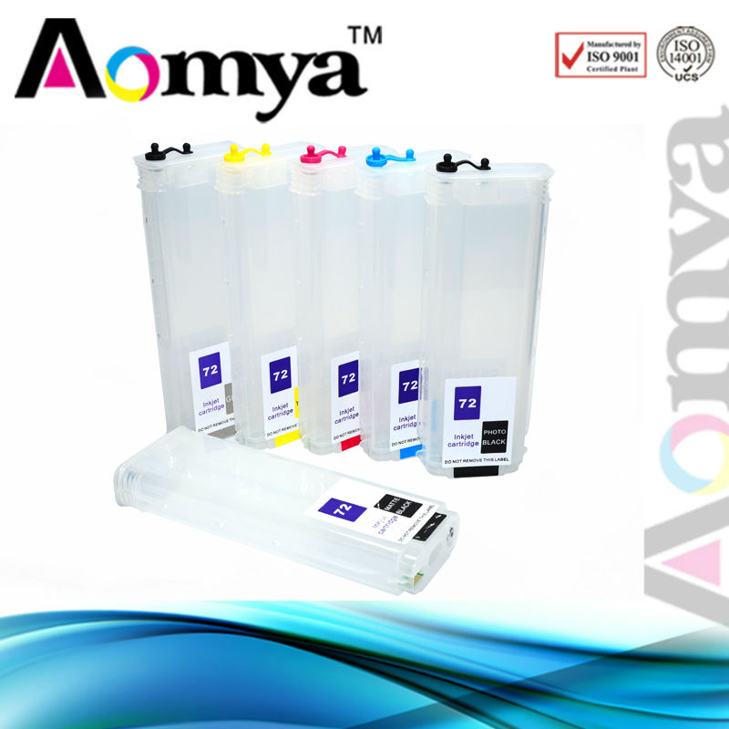 Refill refill ink reusable cartridges for HP 72