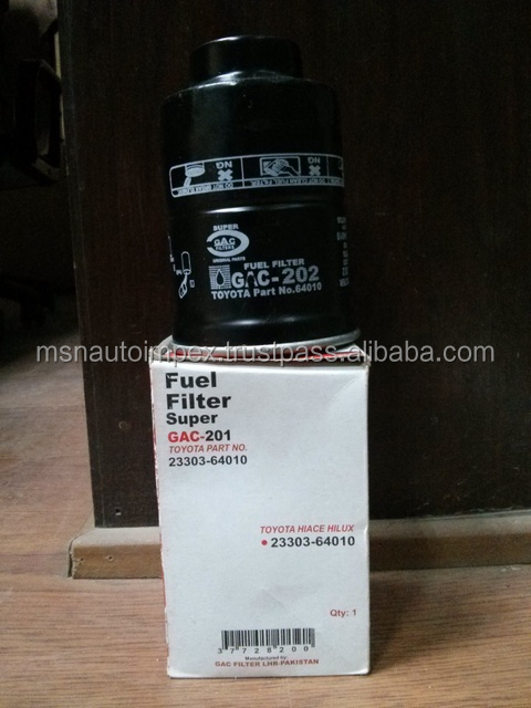 Fuel filter for Toyota Hiace/Hilux Part No. 23303-64010