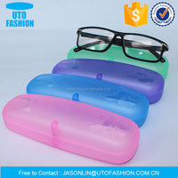 YT8026 cartoon pattern hard plastic reading glasses case