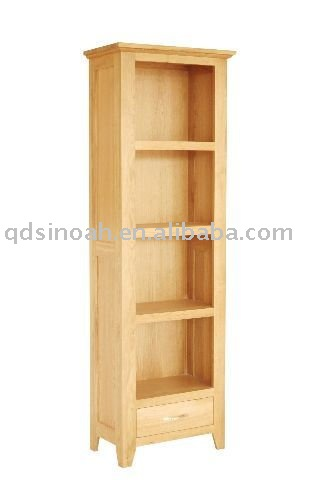 SOLID OAK SMALL BOOKCASE