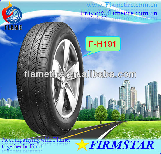 new tyre/new radial tyre 18565R14 tyres china tyre for car/wheel motor car/tubeless tire for passenger vehicle/summer tyre FH191