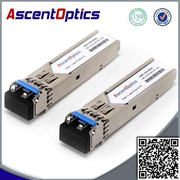 POS OC-12 (STM-4) LR-1 pluggable SFP optic (LC connector). Range up to 40 km over SMF