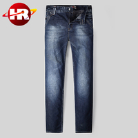 2015 New Fashion Jeans Pants Brand Men Jeans Business Casual Straight Denim Jeans Pants