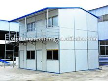 Block Double Storey labour Prefab cabin design