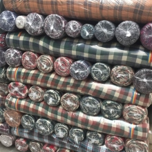 100% yarn dyed cotton fabric for shirt