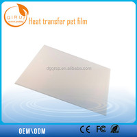 Release PET film, thermal transfer printing film for computer bag