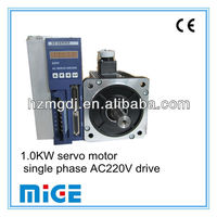 1 0KW Servo Motor And Single