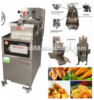 Broaster pressure cooker fried chicken, kfc chips potato pressure cooker, commercial induction cooker