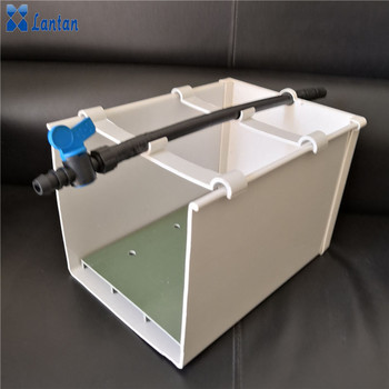 Soilless Culture Plastic planting gutter for Hydroponic Agriculture Greenhouse