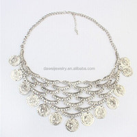 Chain India Jewelry Coin Necklace With