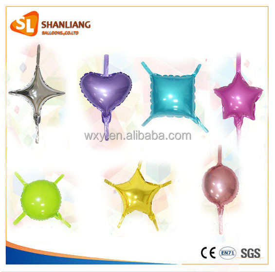 New Design Tail Balloon Link Balloon Star ,Round, Square,Heart