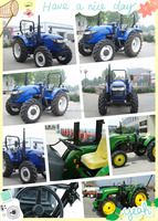 excellent prices high quality 25-65HP four wheel farm tractor prices in China market hot sale