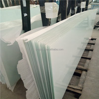 Silk screen printing polished tempered laminated safety glass best price