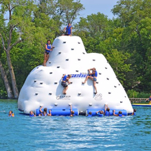 Fun kids and adults giant inflatable iceberg water toy , hot inflatable water iceberg for water park or pool