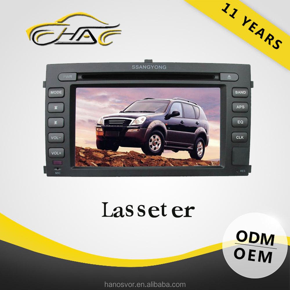Special For Ssangyong Rexton Car Radio GPS Navigation System Built In Bluetooth With Hand Free Call/ Backup Camera