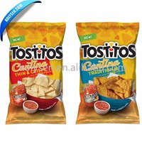 Custom Printed Potato Chip Bags, Food Packaging Bag for Potato Chips Packaging
