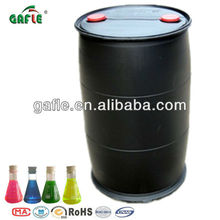 200L round plastic barrel blue red yellow green antifreeze coolant