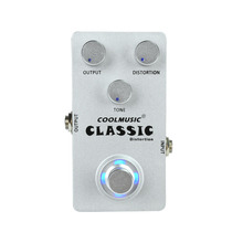 Guitar Pedal Effect Classic Distortion Steel Guitar Effects Pedal Wholesale OEM Sliver 9V
