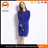 YEEL wholesale import pretty woman clothing from china new winter sweater kint dress lady fashion