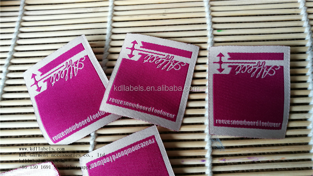 woven tag/label custom sewing labels personalized alibaba golden supplier