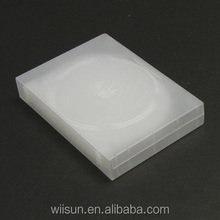 DVD box 27mm frosted 8 disc semi-clear DVD CASE