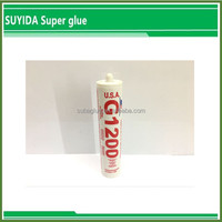 Anti Fungus Transparent Silicone Adhesive For Glass Sealant