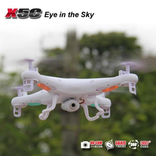 Drone with camera,2.4G 4 Channel syma x5c quadcopter 100M flying camera