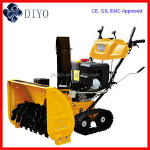 Rubber Track Snow Plow With Battery Start 11HP