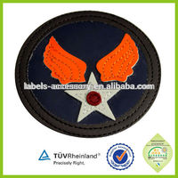 Leather Logo Custom Embossed Leather Patch