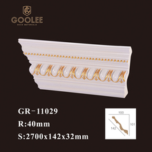Factory Price PU Foam Polyurethane Ceiling Molding Decorative Crown Moulding for Wall