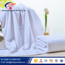 China wholesale 100% cotton white hotel towel supplier