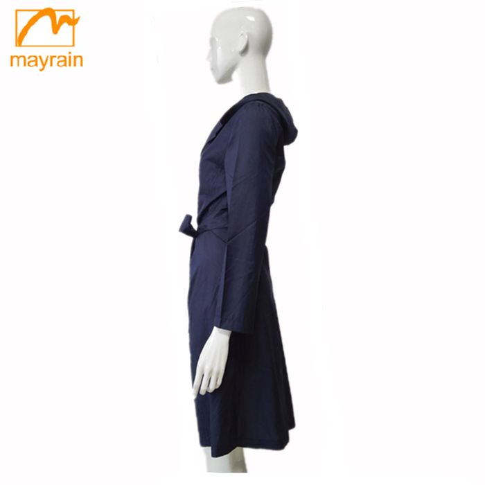 EUROPEAN NEWEST WINTER FASHIONAL COTTON FALBALA WOMEN'S WIND COAT