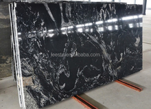 Hot Cheap Fantacy Black granite tiles price philippines