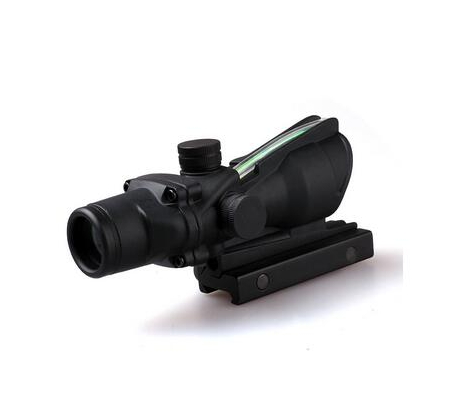 new product 4X32 military rifle scope dual illumination with red horseshoe BAC reticle night vision