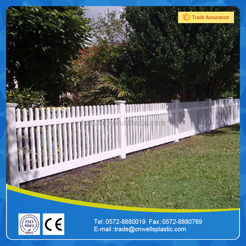 High Quality Cheap Plastic/Vinyl/PVC Picket Fence