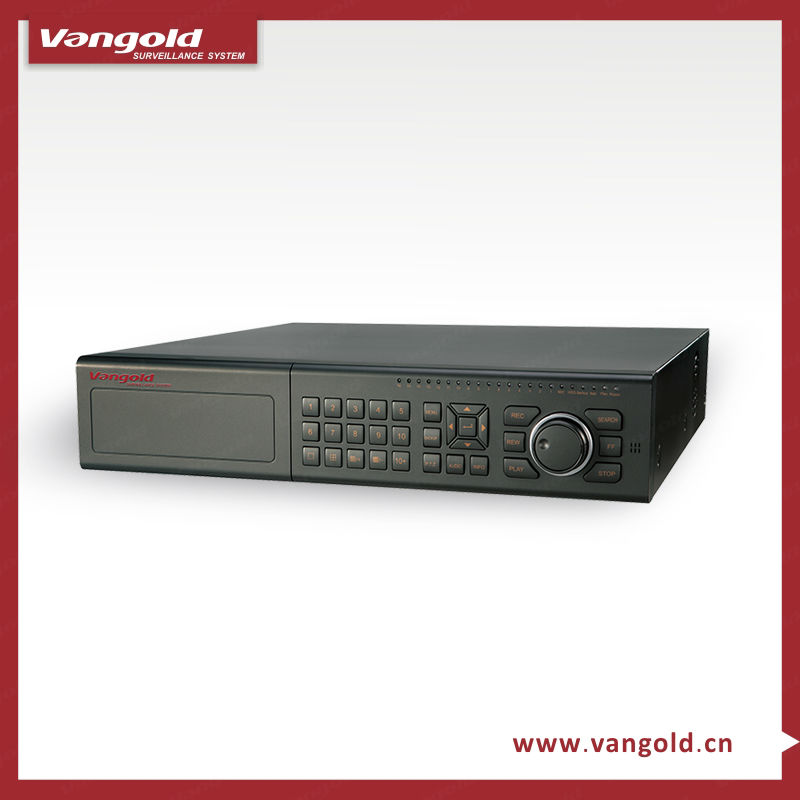 CCTV 24 Channel DVR supporting mobile surveillance and DDNS