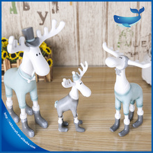 Cartoon Sika deer resin craft