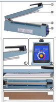 Impulse Sealer / Heat Sealer, Hand Sealer (PFS-100~600)