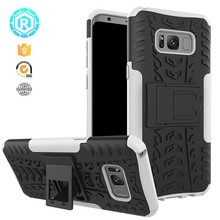 Heavy duty case for Samsung Galaxy S8 case dazzle kickstand for S8 case
