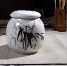2016 cheap small size porcelain cremation jar for ashes