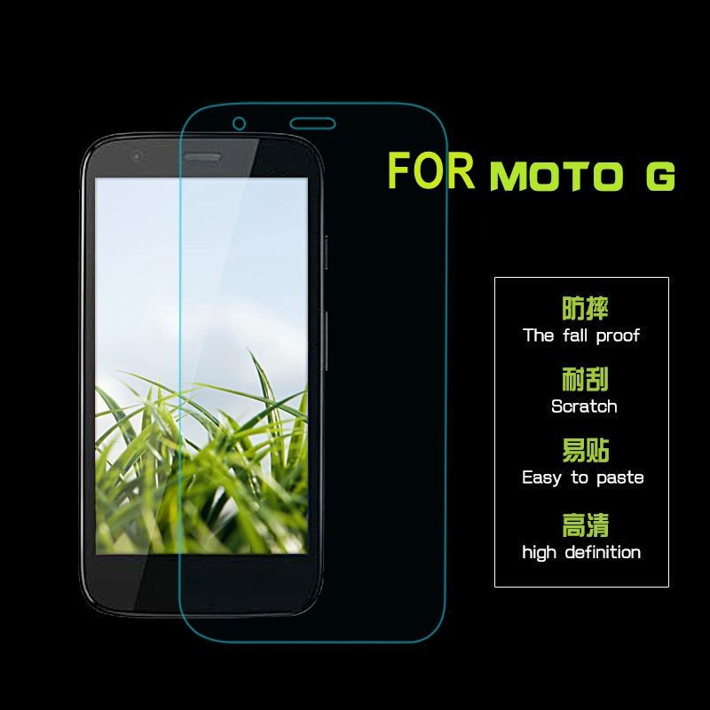 LINNO Factory price For moto G 9h hardness 0.3mm tempered glass protective screen protector