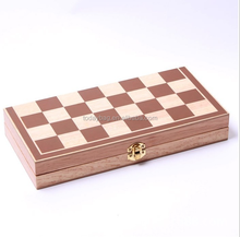 Hot new products for 2015 Classic Wood Folding Chess Set